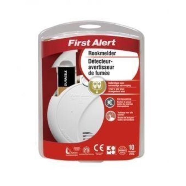 First Alert First Alert rookmelder optisch 9V - garantie 10 jaar
