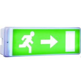 Elro noodverlichting met LED-lamp, inclusief 4 richtinglabels