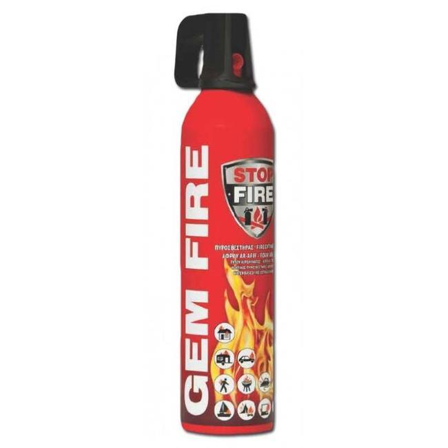 Brandbeveiligingshop GEMFire aerosol type schuim-vetbrandblusser 750gr (ABF)