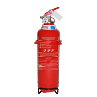 Poederbrandblusser voor voertuigen 1kg met BENOR V-label (ABC) permanente druk