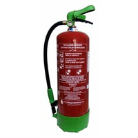Schuimbrandblusser 9l ECO/BIO met BENOR-label (AB) permanente druk
