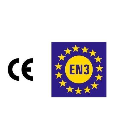 Mobiak Schuimbrandblusser 9l ECO/BIO met BENOR-label (AB) permanente druk