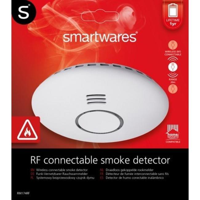 Smartwares Smartwares draadloos koppelbare rookmelder - GRATIS magnetische montageset!