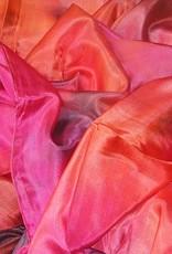 Sehr schöne Schleier in kupfer Farbe mit fuchsia pink und schwarz