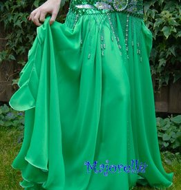 Bauchtanzrock grün