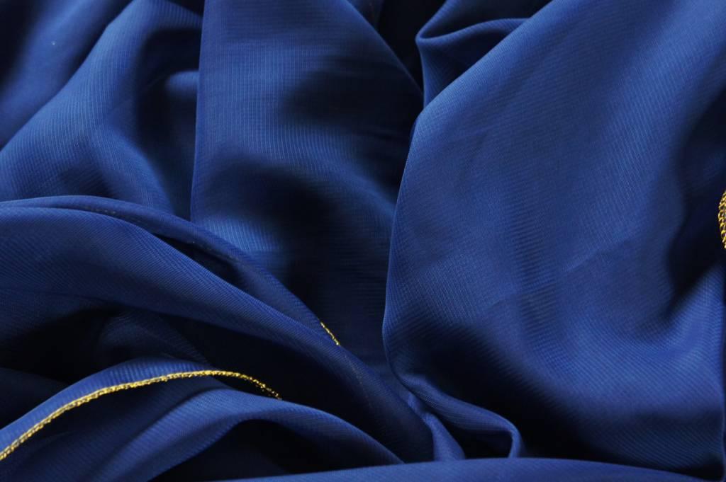 Blaue Bauchtanz Schleier