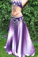 Bauchtanz-Kostüm Anisa in lila