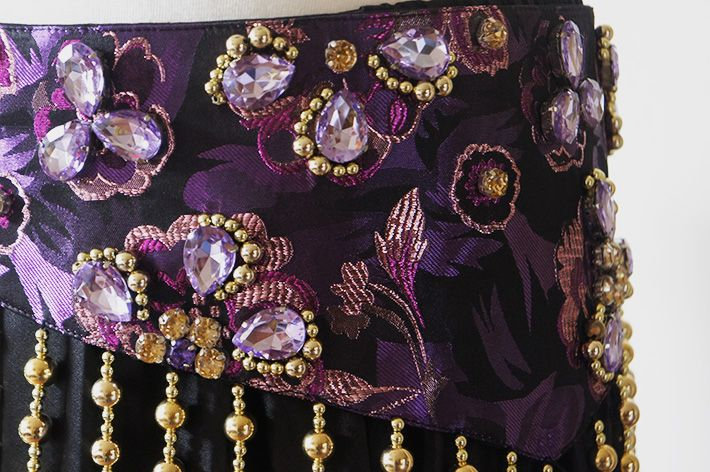 Bauchtanz-Kostüm Amani in lila