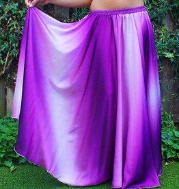 Bauchtanzrock mit Farbverlauf lila