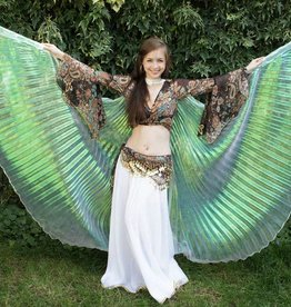 Schöne Organza Isis Wings weiß