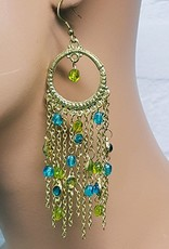 Sakkara Ohrringe im orientalischen Stil Gold