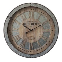 Old West  Wandklok Rond  - Ø60 cm