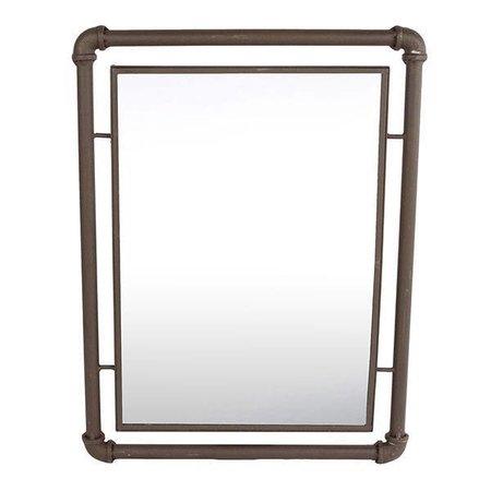 Sweet Living Wandspiegel Industrieel - 40x3xH53 cm