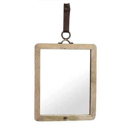 PTMD Wandspiegel Hout Morris - 32x4xH40 cm
