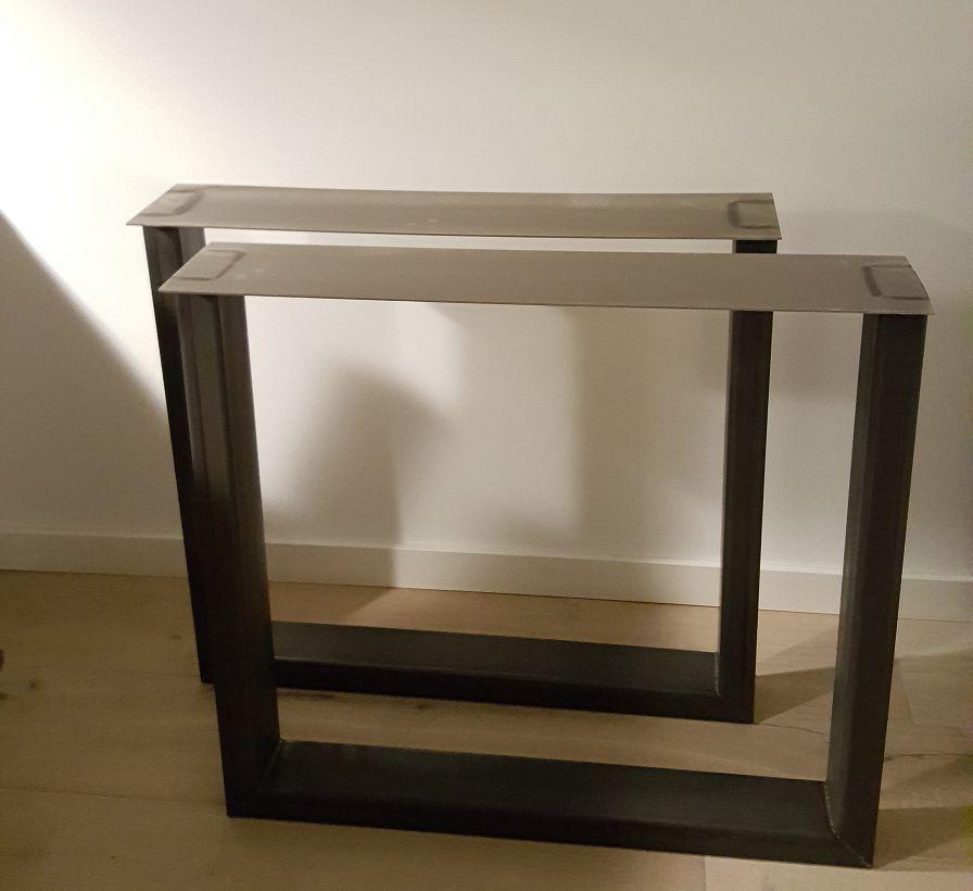 Tafelpoten Model U 50 100 Set Firma Hout Amp Staal