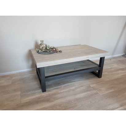 Salontafel Hout & Staal