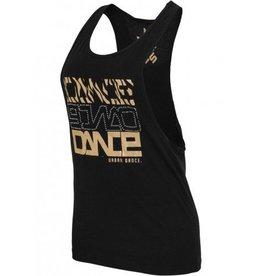 Urban Classics Tanktop Dance Zebra black/gold/crystals