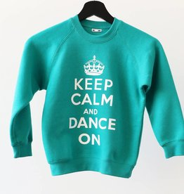 6Teps Sweater 'Keep Calm and Dance On'
