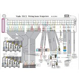 LiquidSi ЭБУ 8 цилиндра, проводка и переключатель типа топлива