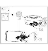 LiquidSi Kit de logement étanche au gaz