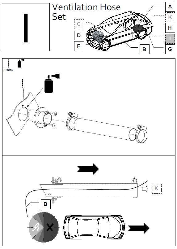 LiquidSi Kit de ventilation