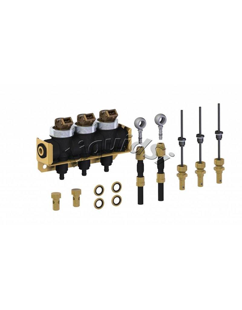 LiquidSi Rampa de inyección de combustible 1x3   3 cilindros