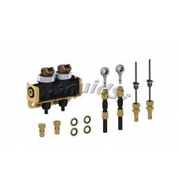 LiquidSi Rampa de inyección de combustible 1x2 | 2 cilindros