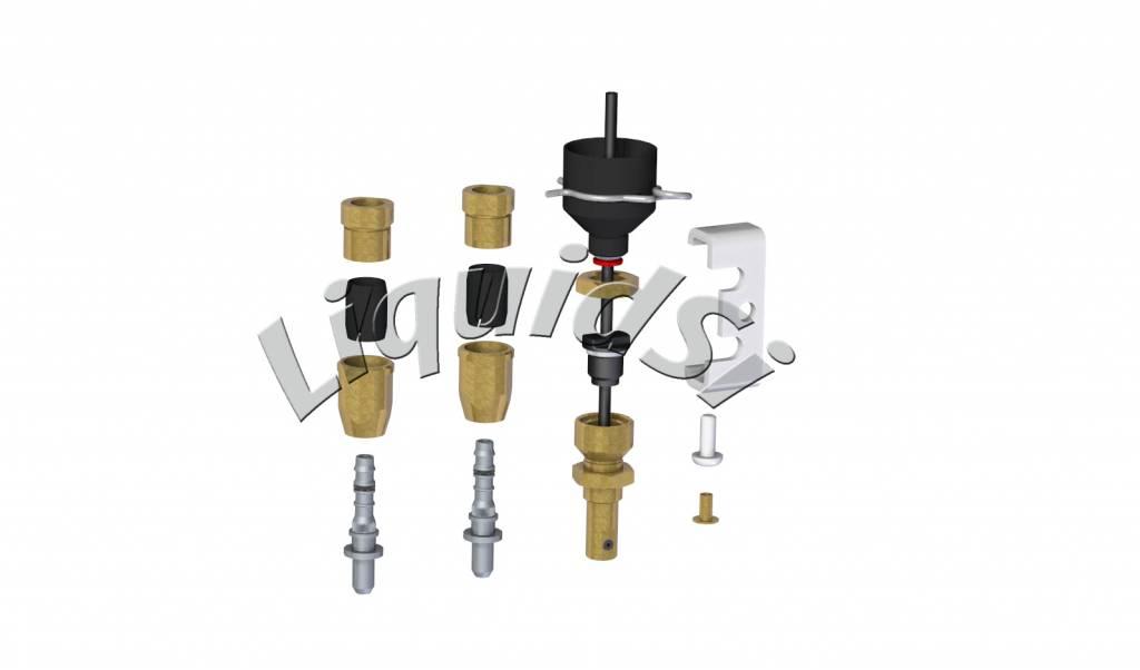 LiquidSi Injector nozzle