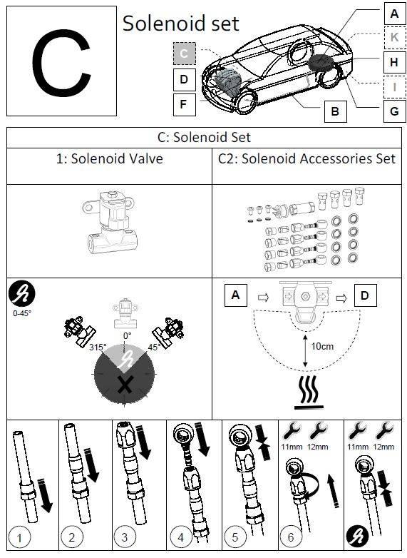 LiquidSi Solenoid valve accessoir