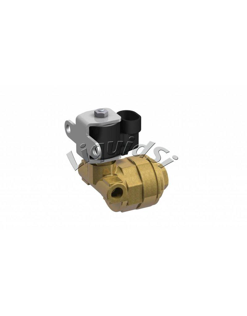 LiquidSi Solenoid valve to shut off the LPG