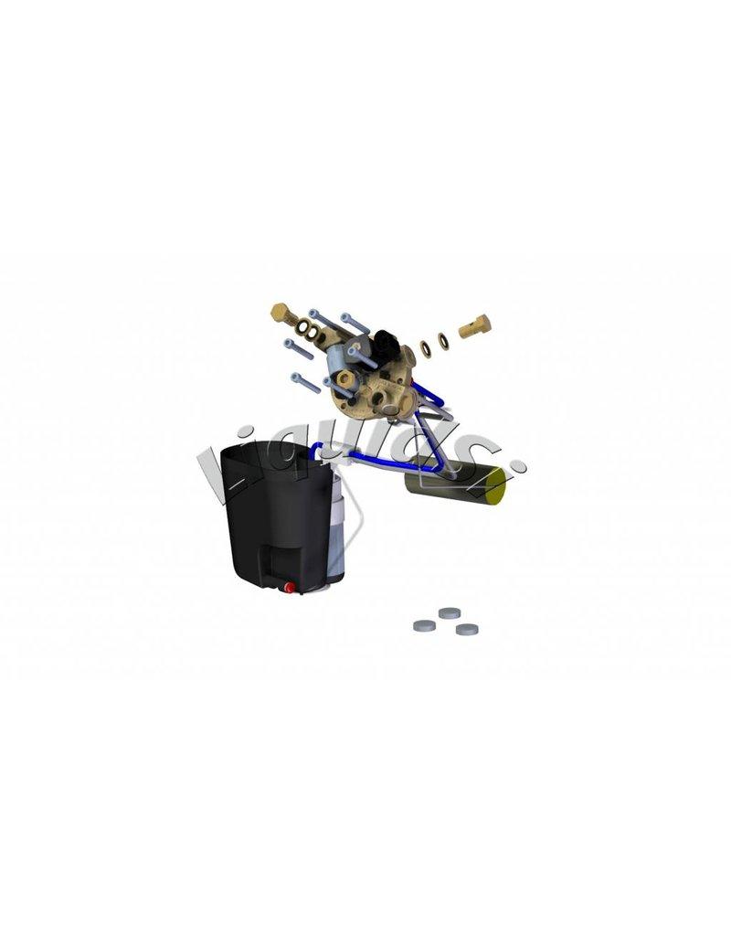 LiquidSi Módulo de llenado PTS40 | Depósito cilíndrico