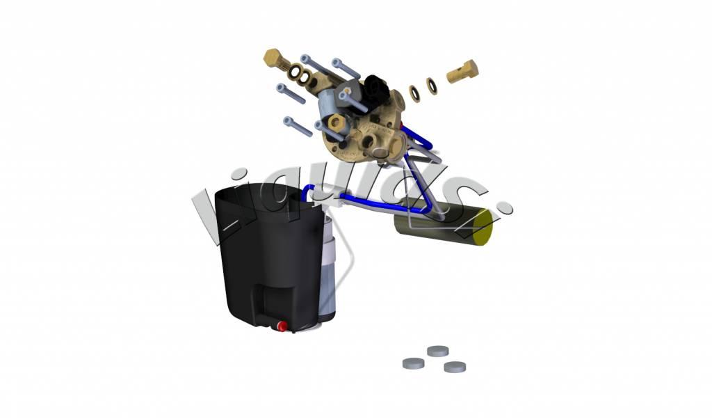 LiquidSi Modulo Carburante- PTS40 | Serbatoio cilindrico
