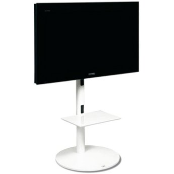 L&C Design Pedestal 1 Wit TV Standaard