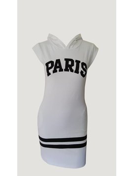 Paris Dress White