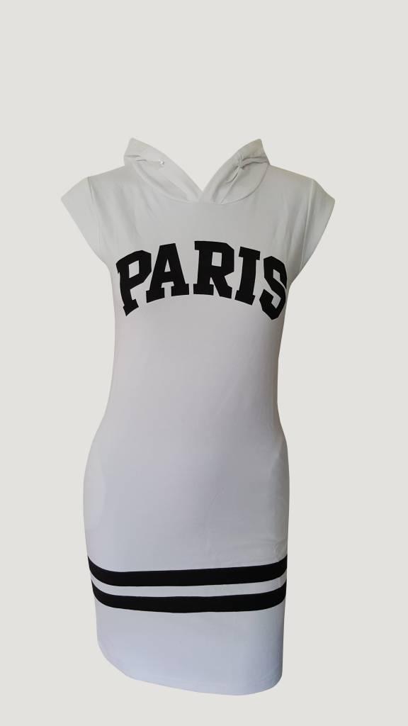 Paris Dress White