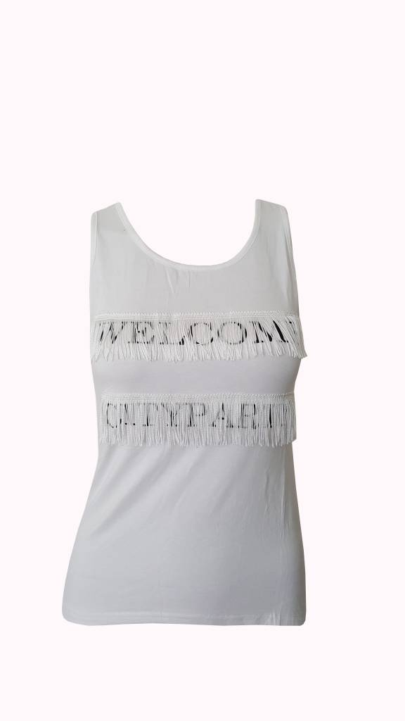 Welcome city party (white)