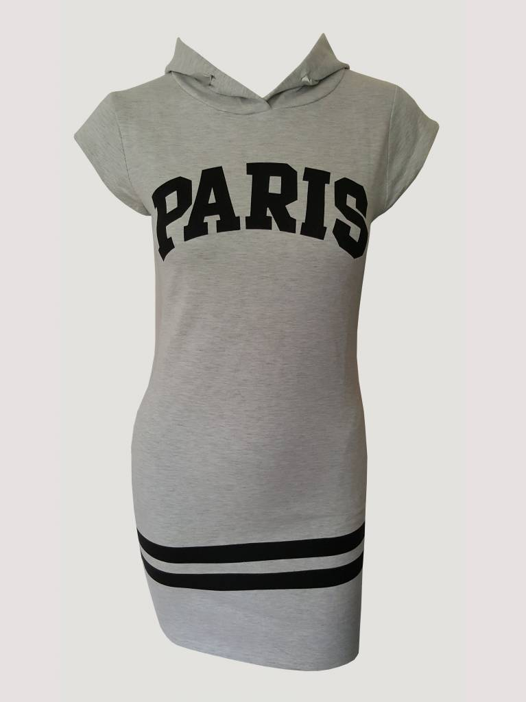 Paris Dress Grey