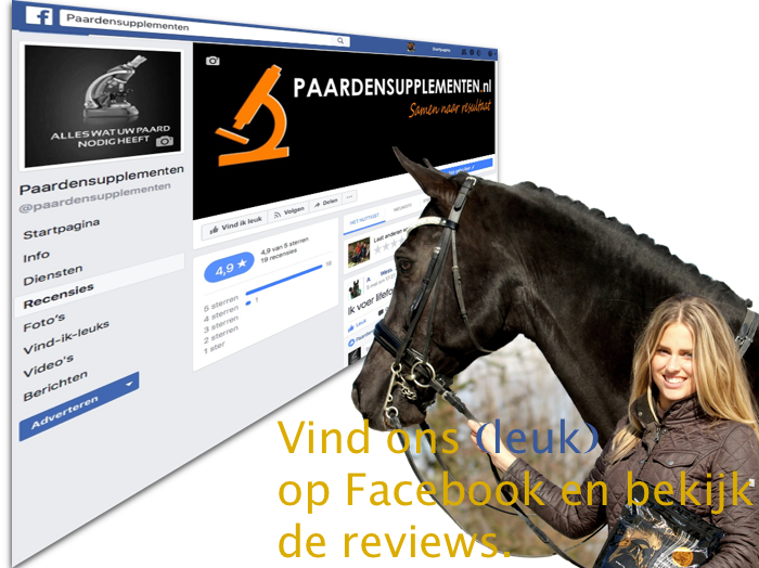Reviews over Paardensupplementen.nl op Facebook