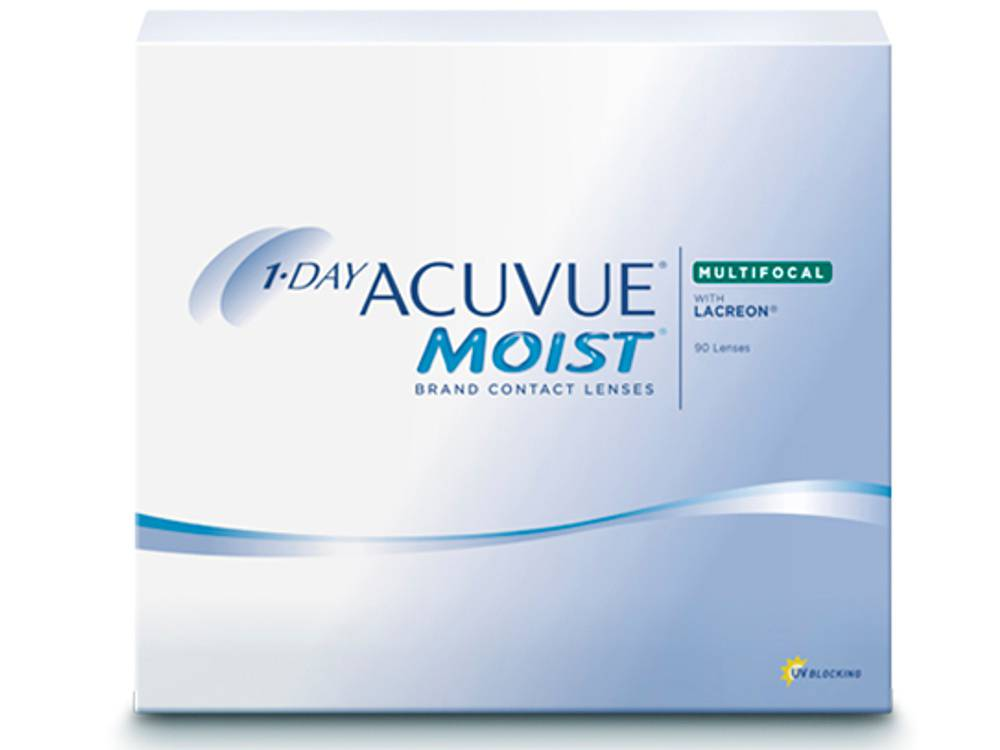 Acuvue 1-Day Moist Multifocal 90er Box