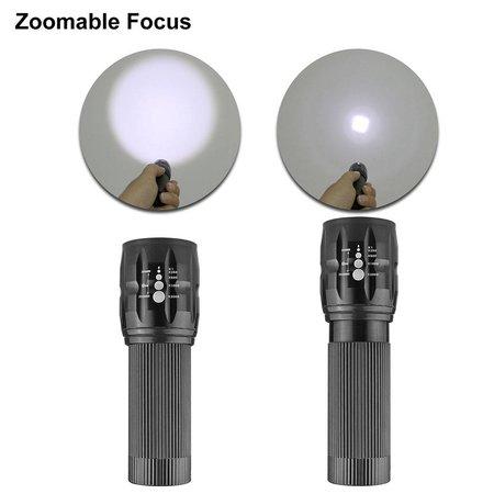 Outdoor zaklamp LED aluminium, waterdicht