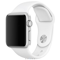 Siliconen band Apple compatible wit