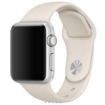Siliconen band Apple compatible antique white