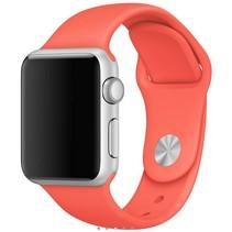 Siliconen band Apple compatibel apricot