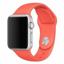 Siliconen band Apple compatible orange
