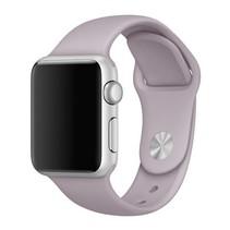 Siliconen band Apple compatible lavender