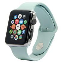 Siliconen band Apple compatible mint