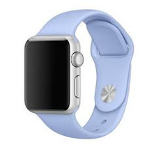 Siliconen band Apple compatible lilac