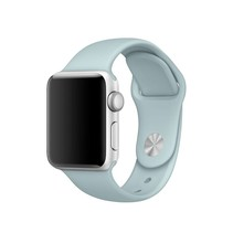Siliconen band Apple compatible turquoise