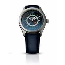 P59 Aurora GMT blue leather