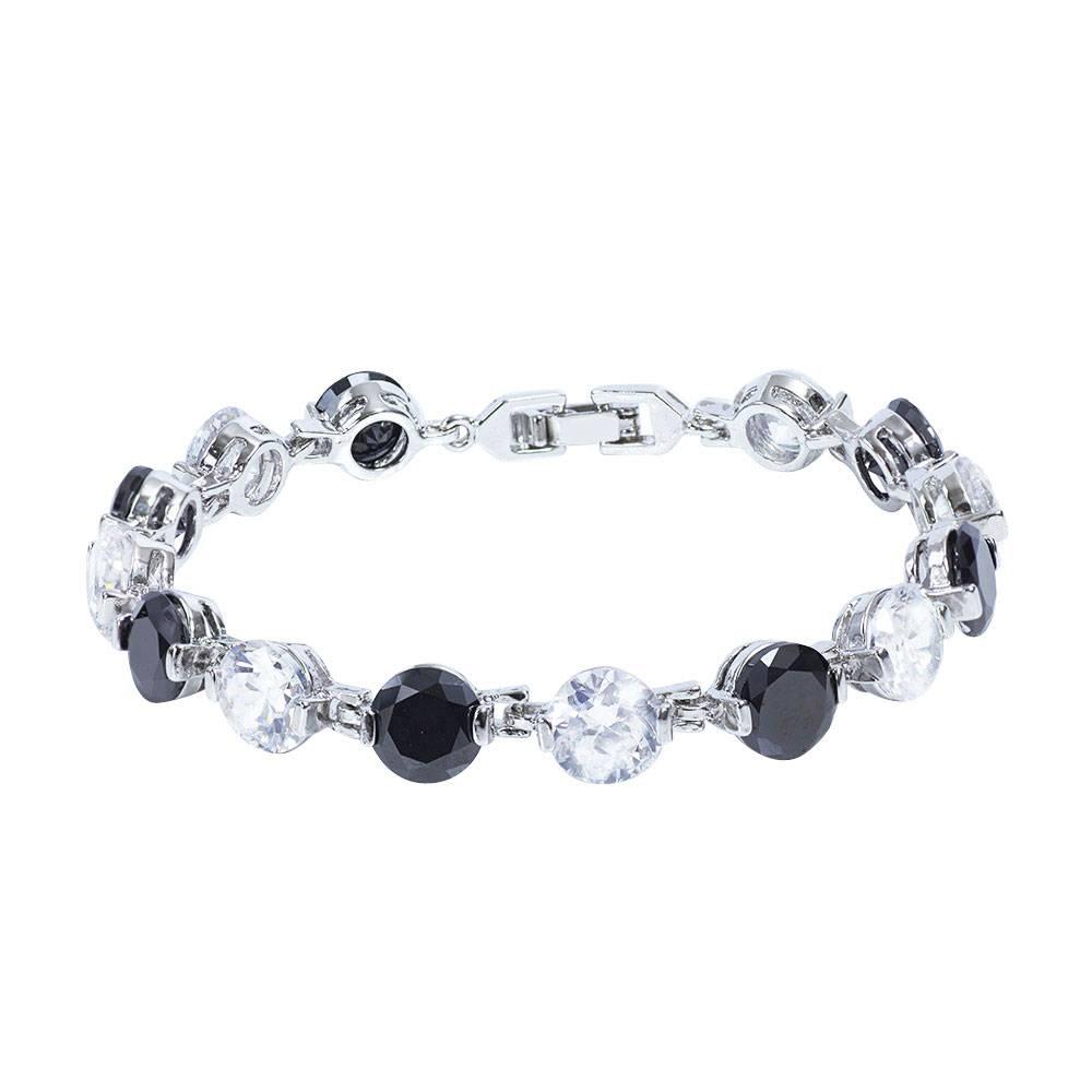 Stella-Bijou Bianco Nero - Armband